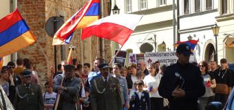Krakowski marsz pamięci o ludobójstwie Ormian – relacja fotograficzna