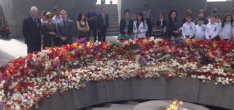Uroczystości 100 rocznicy ludobójstwa popełnionego na Ormianach