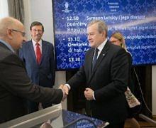 """Profesorowie Krzysztof Stopka i Andrzej A. Zięba odznaczeni medalami """"Gloria Artis"""""""