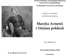 Muzyka Armenii i Ormian polskich