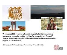 Armenia w roku 1918. Kontekst ormiański i międzynarodowy