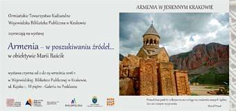 """Wystawa """"Armenia – w poszukiwaniu źródeł"""""""