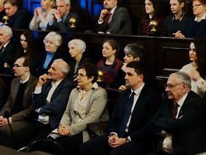 Collegium Maius, przemawia Edgar Ghazaryan, ambasador Republiki Armenii w Polsce. Fot. Władysław Deńca